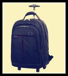Black mini laptop trolley bag,Trolley laptop bag