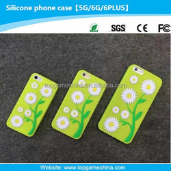 transparent silicone phone case for iphone 6 funny cases