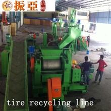 automatic latest professional tire recycling machine