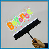 hot items 2015 magic led drawing board with handle for fans