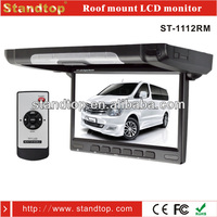 10.1 inch roof car lcd monitor with hdmi input