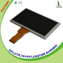 "Yunlea 24 Bit RGB touch interface tft 7"" inch lcd 1024x600"