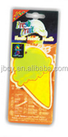 TOP SALES CUSTOMIZED Ice cream paper air fresher /freshener/freshner