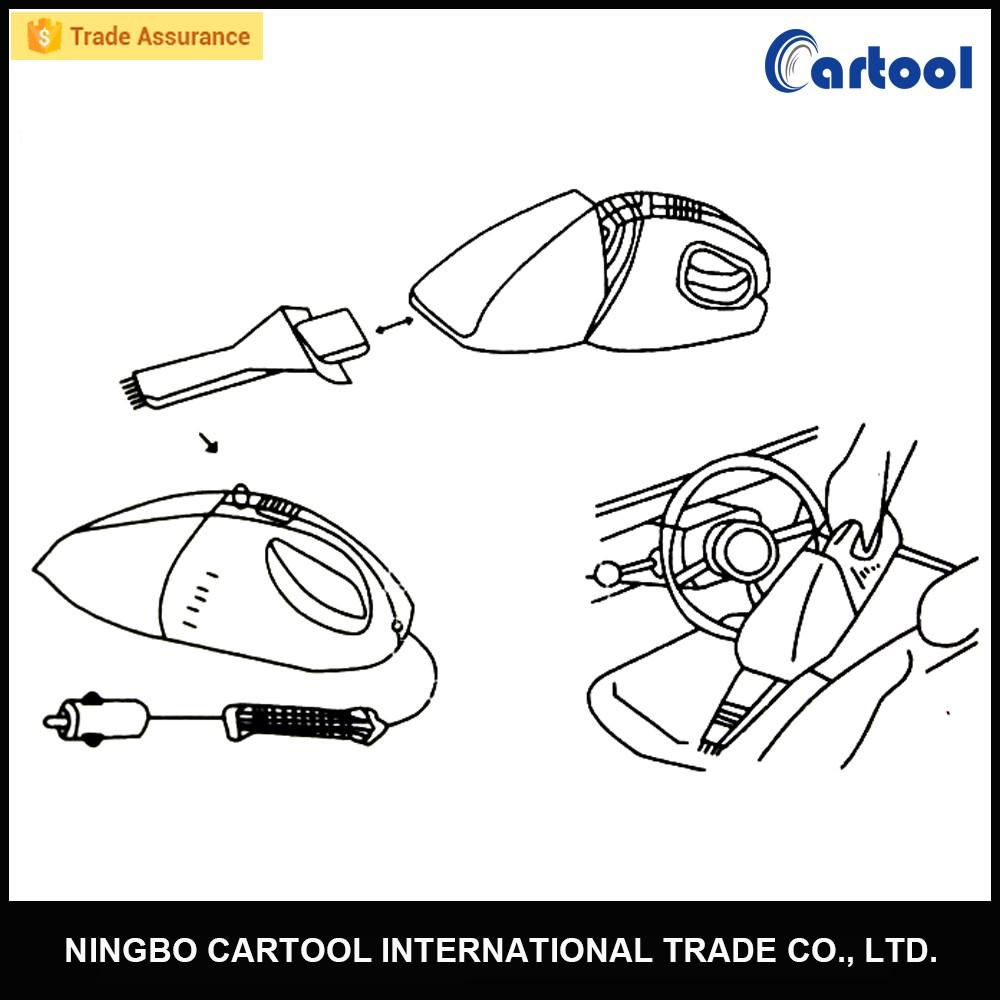 handheld 12v car portable vacuum cleaner