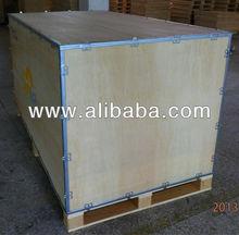 Wooden no-nail crates