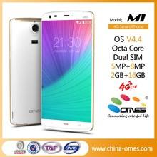 "High Level OEM manufacturer M1 5.5"" 4G FDD LTE octa core 4G mobile"