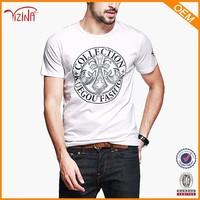 Manufactory Custom Logo Print White T Shirt