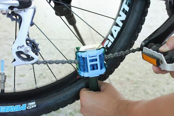 онлайн как очистить цепь на велосипеде автора Алексей