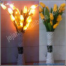 boda de la iluminación decorativa tulipán amarillo