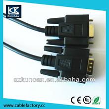 Factory supply superior service rca vga cable\/converter\/vga rca
