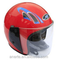 Anerte cheap popular safe half face moto helmet B-20 low price pp/abs half helmet