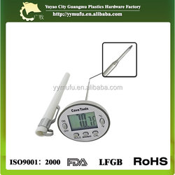 High quality and metal material Instant read multi lcd food cooking oven digital thermometer