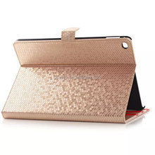 Bling Bling leather bag for apple ipad air 2