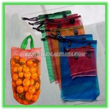 onion leno bag fruit mesh bag with handle