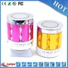 portable creative bluetooth sales disco lights speaker subwoofer