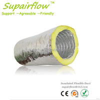 Designer manufacture insulated flexible air round duct