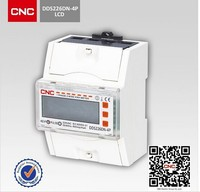 China brand instrument DDS226DN-4P-M plastic electric meter cover