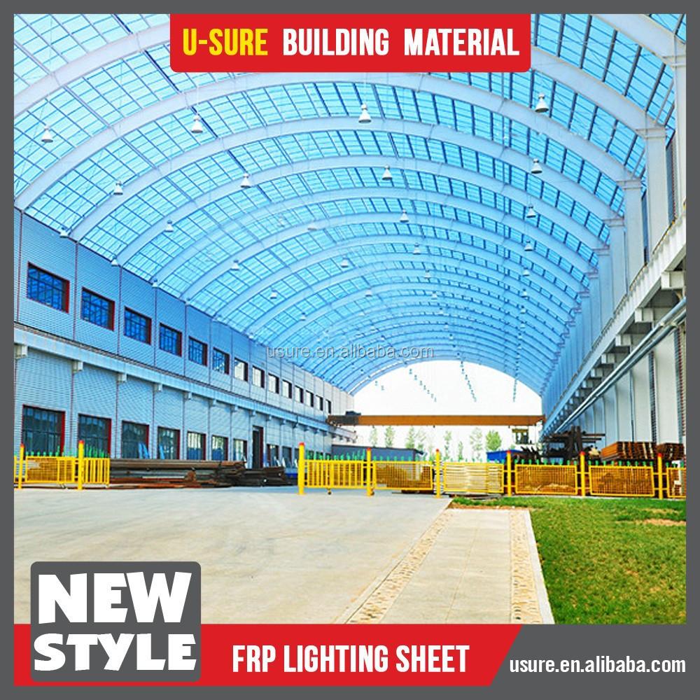 New technology 2015 fiber glass frp transparent roof tile for New tile technology