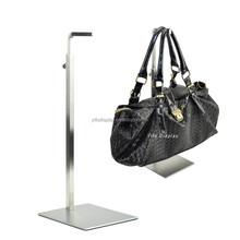 wholesale stainless steel bag display/ bag rack holder TSI011/Display bag