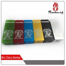 2015 e cigarette new products China supplier e-cig mod Cherry bomber box mini wholesale