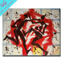 Wholesale high quality mordern african women painting for interior decoration