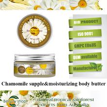 La piel de manzanilla y crema para blanquear cuerpo para mancha oscura / cuerpo a base de hierbas crema para aclarar