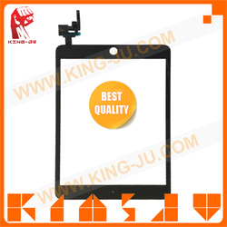 Top quality for iPad mini 3 touch panel,original glass for iPad mini 3 touch assembly,For iPad mini 3 digitizer with sensor