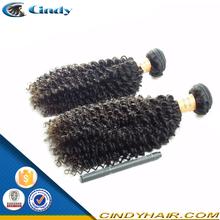 fashion source no tangle no shed super line human remy kinky afro hair weave