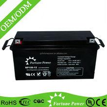 china supplier lead acid maintenance free ups gel inverter battery 150ah 12v