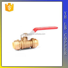 1 -1/4''230V Electric Actuator Brass Ball Valve (2C-841)