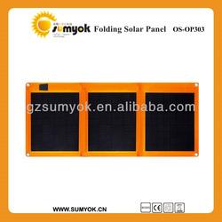 China factory direct sell 20W 30W 40W 50W 60W 12V folding foldable solar cell solar