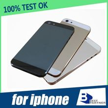 Free shipping back cover replacement for iphone 5 back cover