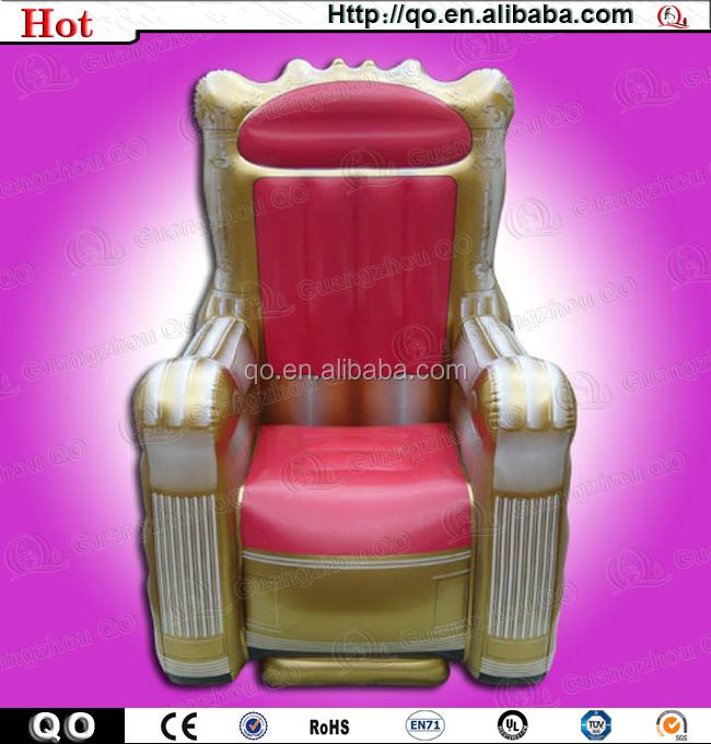 Latest Unique Design Princess Style Inflatable Throne ...