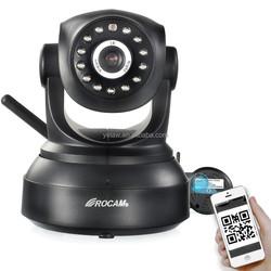 Auto Surveillance Equipment 300K Pixel Baby Care IP Camera