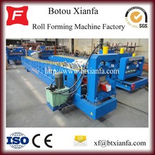 Latest Gutter Color Metal Roof Sheet Cold Roll Forming Machine