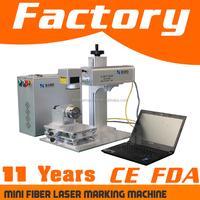 Fiber laser marker for metal and non-metal | metal etching sign making machine