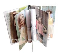 printing travel/cosmetic/ fashion clothes brochure design