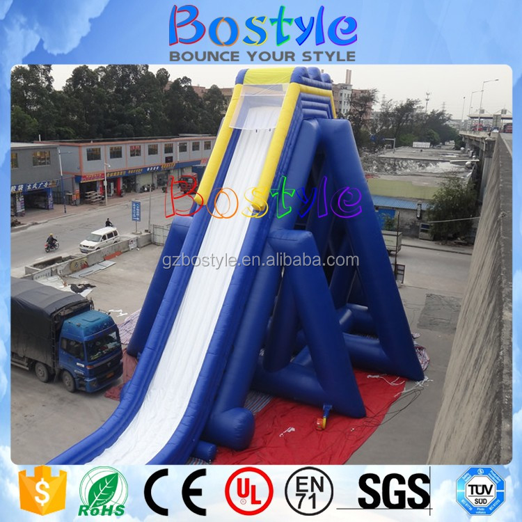 Inflatable Giant Slide: High Speed Inflatable Giant Slide Inflatable Water Slides