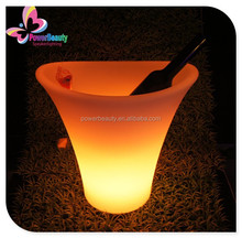 OEM/ ODM belaire rose champagne led ice bucket with low price