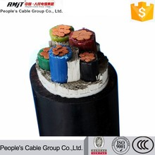 Manufacturing Company Supplies 0.6/1kV Aluminum or Copper Core Electric Power Cable