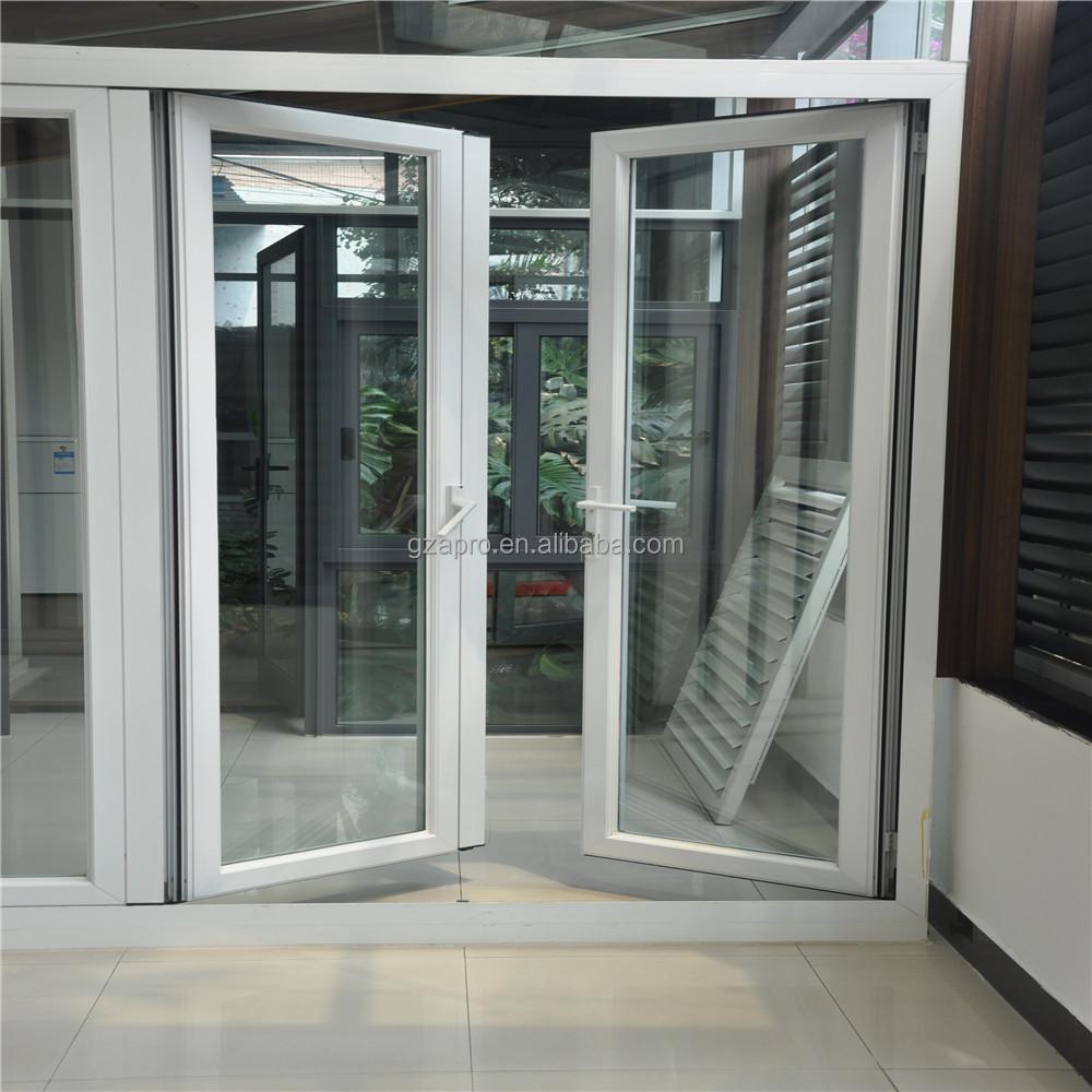 Home Design Front Door Designs Double Tempered Glass Door In China