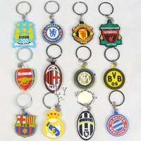 Soccer Football Ball silicone keychain 2014 World Cup promotional items