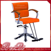 Styling Chair With Footrest Customized OEM Size Color Salon Hair Furniture