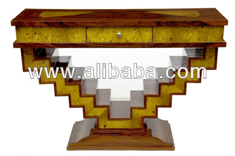 Art deco muebles mesas de madera identificaci n del - Art deco muebles ...