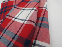 Color spinning plaid rayon shirt fabric price wholesale