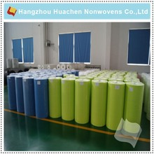 Exported Wholesale Heat sealable Competitive price Stock Lot Nonwoven