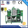 Demulsification multi-function power saving cooking oil refining plant