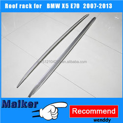 Roof rack luggage rails for BMW X5 E70 2007-2013 roof rails car accessories auto tuning parts