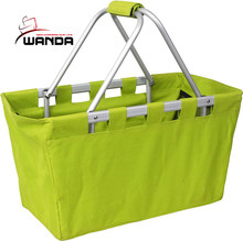 supply portable folding hand shopping basket folded basket