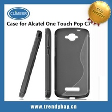 TPU Cover case for Alcatel One Touch Pop C7